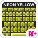 键盘加霓虹黄