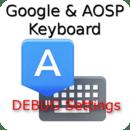 Google Keyboard Debug Settings