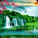 3D山水风景动态壁纸