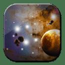 银河 S4 黑暗空间手机壁纸