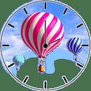 热 气球 时钟