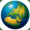 世界巨幅3D卫星地图
