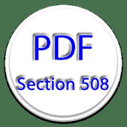 PDF第508条要求