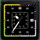 Aviation Watch Face for Wear