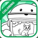 Coloring : Team Umi Zomi