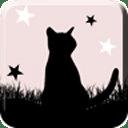 月夜与黑猫