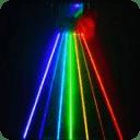 彩虹激光笔模拟