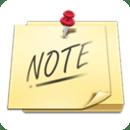 Widget notes