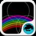 GO Keyboard Neon Rainbow Free