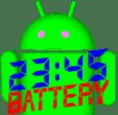 数字时钟和电池