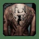 纹身设计男士