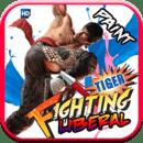 Fighting Tiger - Paint L...