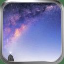 夜空银河-绿豆动态壁纸
