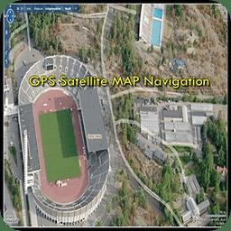 GPS 卫星地图导航