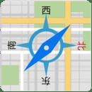 地图指南针