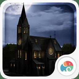 3D月下教堂