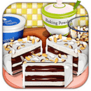 烹饪游戏:制作冰激凌蛋糕