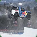 雪地汽车拉力赛