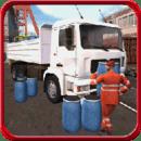 卡车运输货物