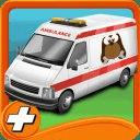 救护车宠物救援停车