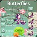 GO短信加强版的蝴蝶