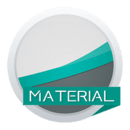 Material Stock Teal Theme-Xperia主题