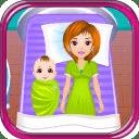 出生婴儿沙龙游戏