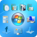 Windows 7 Go Launcher ex Theme 2.0版本