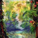 发光丛林动态壁纸