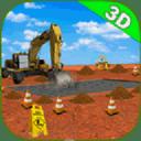 3D建筑挖掘机