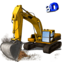 挖掘起重机3D