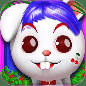 小兔子化妆