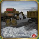 扫雪机挖掘机机器人