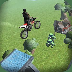 审判的Xtreme自行车特技