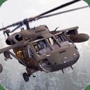 俄陆军直升机救援
