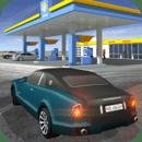 加油站汽车驾驶游戏