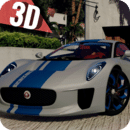 Race Jaguar Simulator 3D