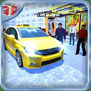 越野出租车车 - 疯狂的车