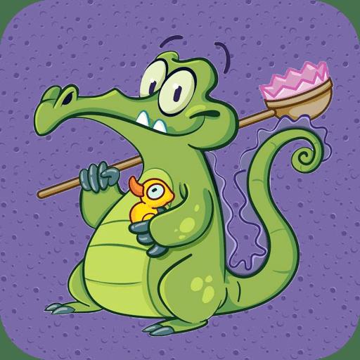 鳄鱼小精灵洗澡