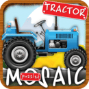 动画拼图农用拖拉机