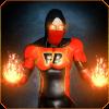 超级英雄火焰火焰