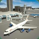 飞行模拟器的3D飞机