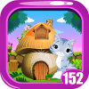 Cute Cat Rescue Game Kavi - 152