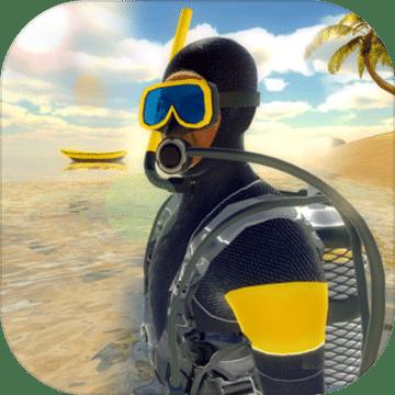 深 游泳的 3D
