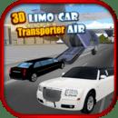 3D豪华轿车轿车运输车:空气