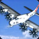 飞行模拟3D:陆军飞机