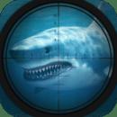 水下鲨鱼猎人狙击手
