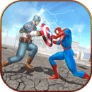 蜘蛛英雄对美国超级英雄队长