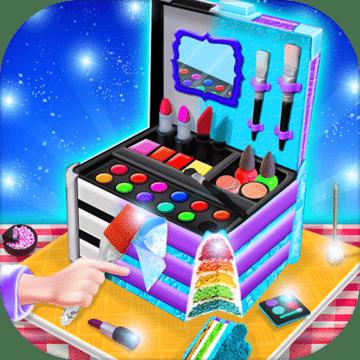 公主化妆盒蛋糕制造商!烹饪游戏