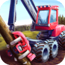 Forest Harvester Tractor 3D